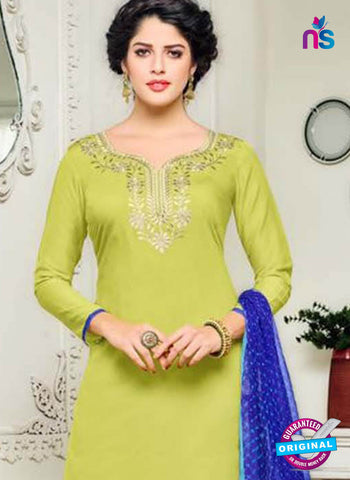 Angroop 228 Green Formal Cotton Suit