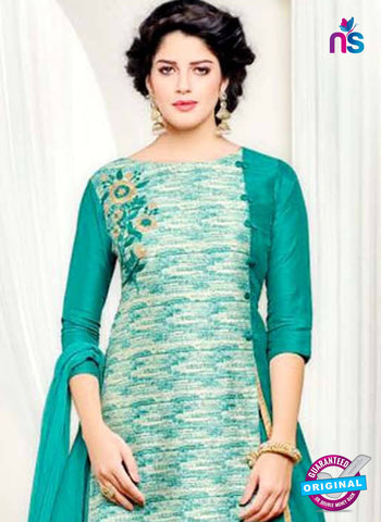 Angroop 230 Sea Green Indo Western Suit