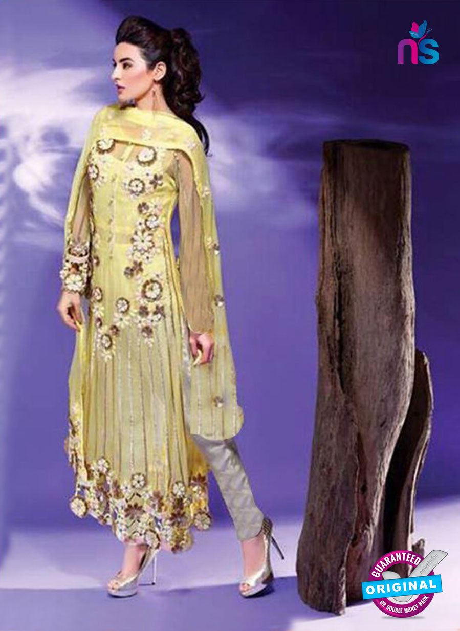 SC 14103 Green Faux Georgette Pakistani Suit