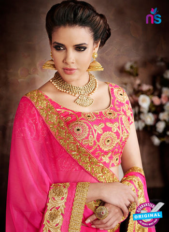 Chiffon Designer Wedding Saree