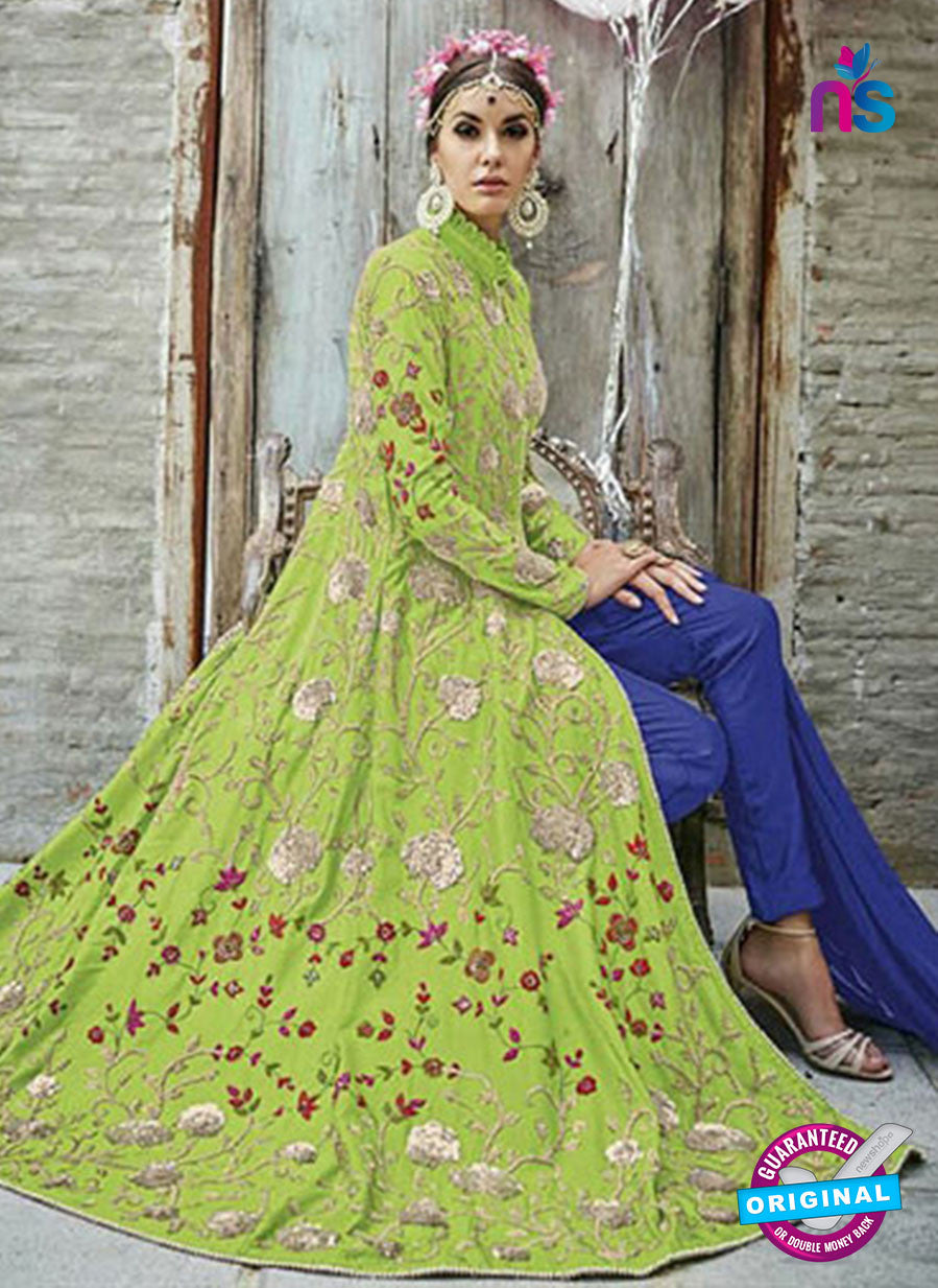 Mohini 24003 Green Color China Crape Designer Suit