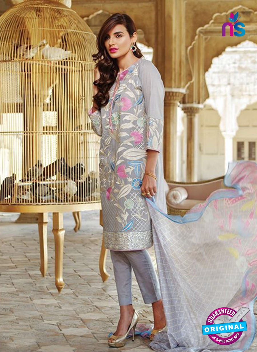 SC 14070 Grey Cotton Exclusive Fancy Designer Suit