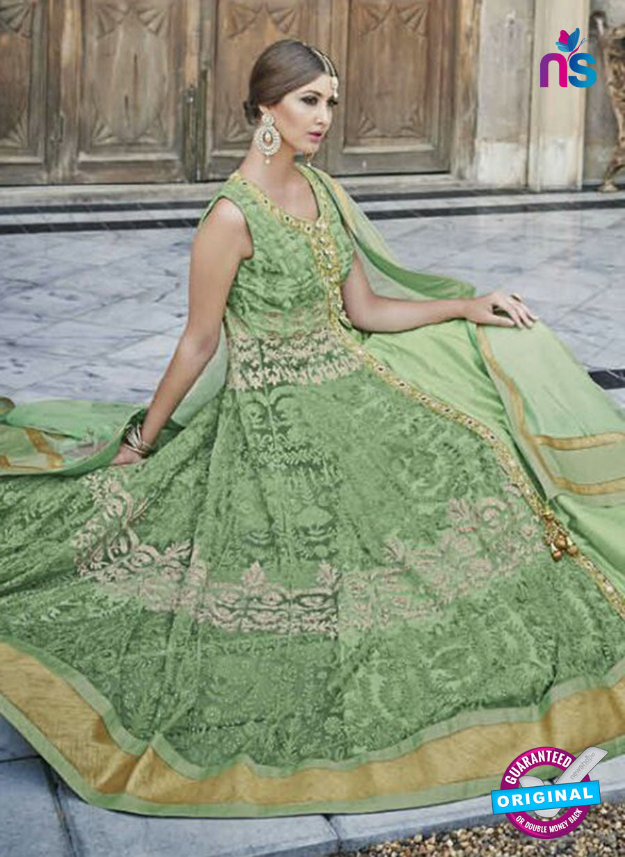 Mohini 24006  Green Color Net Designer Suit