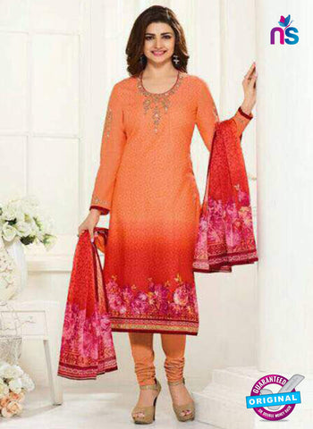 Vinay Fashion 24366 Orange Party Wear Suit
