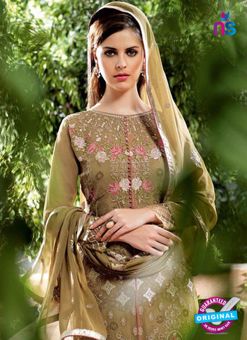 Bela 2480 Mehandi Green Georgette Party Wear Suit Online