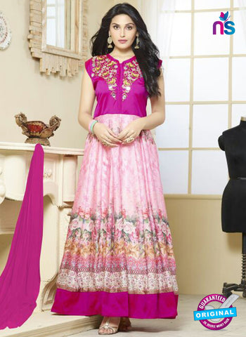 Your Choice 2481 Pink Georgette Anarkali Suit