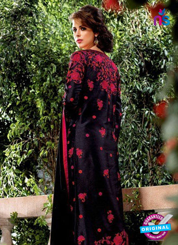 Bela 2481 Black Raw Silk Party Wear Suit Online