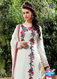 AZ 3768 White Georgette Party Wear Suit