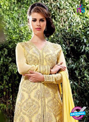 Bela 2483 Yellow Georgette Party Wear Suit Online
