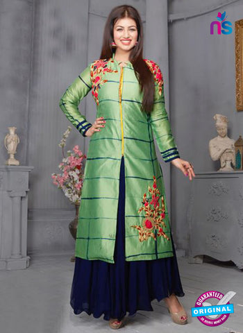 Your Choice 2493 Green Indo Western Suit