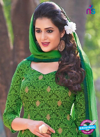 KalaKirti 2511 Green Cotton Designer Suit