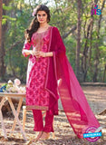KalaKirti 2512 Pink Cotton Designer Suit