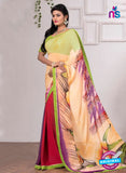 AZ 3350 Maroon and Multicolor Georgette Fancy Saree