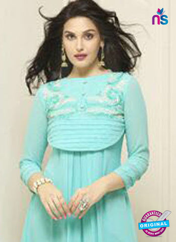 Your Choice 2574 Sky Blue Designer Tunic