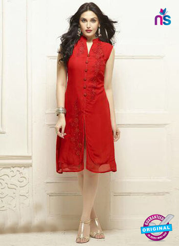 Your Choice 2583 Red Party Wear Kurti