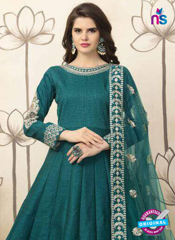Aanaya 26002 Sea Green Anarkali Suit