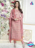 Fiona 2623 Pink Faux Georgette Party Wear Straight Suit