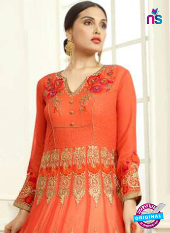 Your Choice 2635 Orange Anarkali Suit