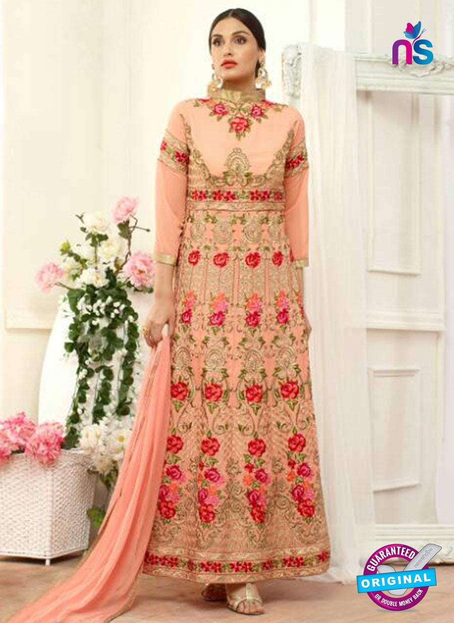 Your Choice 2636 Peach Anarkali Suit