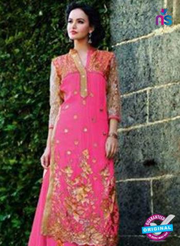 NS12264 Pink and Golden Plazo Suit Online