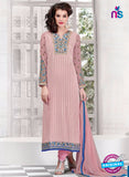 AZ 2305 Pink Embroidered Georgette Party Wear Suit