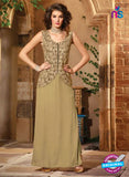 Maskeen 2704-Beige Color Georgette Designer Suit