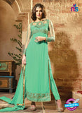 Maskeen 2707-Green Color Georgette Designer Suit