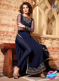 Maskeen 2708-Blue Color Georgette Designer Suit