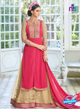 Mohini Glamour 28003 Net Georgette Beige and Pink Suit Online