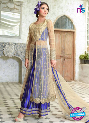 Mohini Glamour 28006 Georgette Embroidery Blue Suit