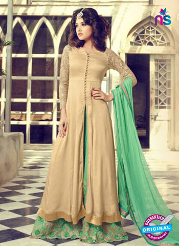 Mohini 29005 Beige  and Green Georgette Indo Western Suit