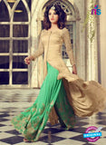 Mohini 29005 Beige  and Green Georgette Indo Western Suit  Online