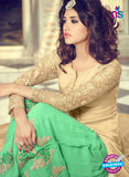 Buy Mohini 29005 Beige  and Green Georgette Indo Western Suit
