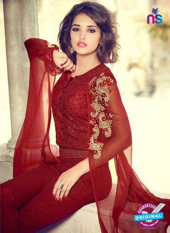 Mohini 29006 Maroon Georgette Plazo Suit Online Shopping