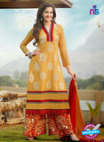 NS12193 Yellow and Red Plazo Suit