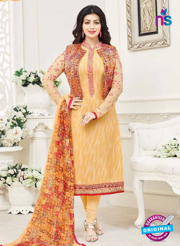 Lavina 3001 Yellow Party Wear Suit