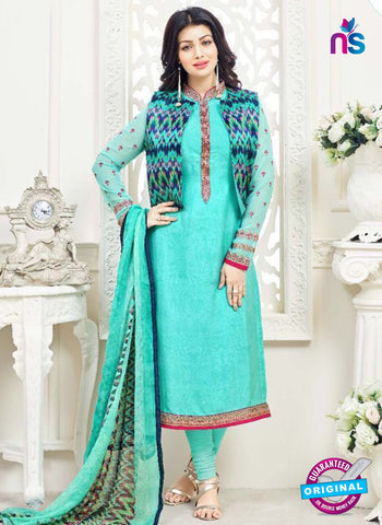 Lavina 3004 Sky Blue Party Wear Suit