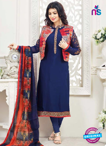 Lavina 3006 Blue Party Wear Suit
