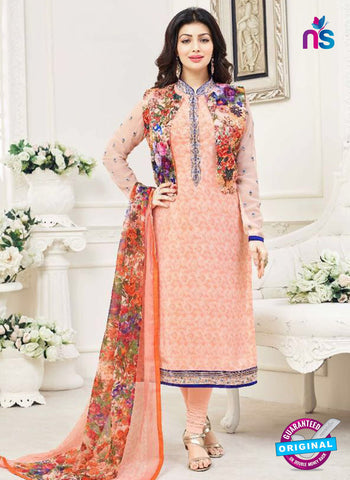 Lavina 3007 Peach Party Wear Suit