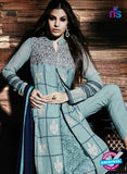 NS Rabia 12450 Blue Georgette Party Wear Suit