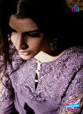 NS Rabia 12452 Purple Georgette Party Wear Suit