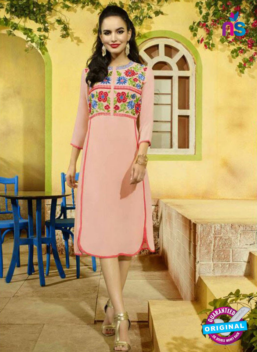 SC 13404 Pink Designer Traditional Party Wear Fancy Kurti