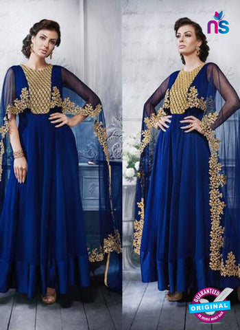 Florence 3054 Blue Indo Western Suit