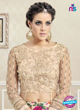 AZ 3329 Peach Faux Georgette Fancy Designer Lehenga - Lehengas - NEW SHOP