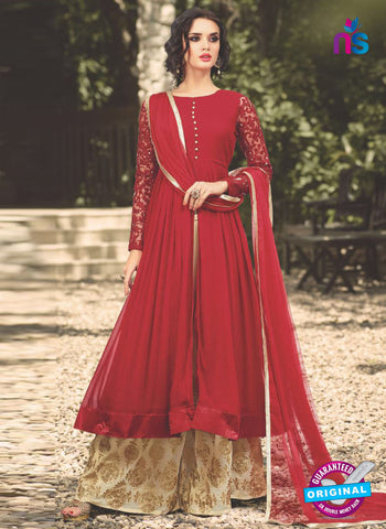 Mohini 32001 Red Indo Western Suit