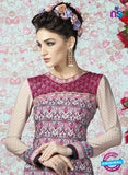 AZ 2322 Multicolor Crepe Fancy Pakistani Suit Online