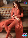 Maskeen 3207 Peach Banarasi Silk Party Wear Suit Online