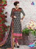 AZ 2331 Black and Pink Crepe Fancy Pakistani Suit