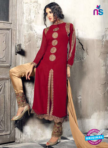 Mohini 33004 Maroon Party Wear Suit