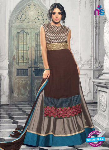 Mohini 33006 Brown Indo Western Suit